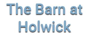 The Barn Holwick